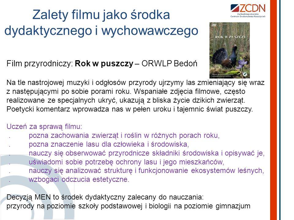 Cytat z pracy dyplomowej Katarzyny Kalbarczyk – n-la przyrody Rola mediów w edukacji przyrodniczej i ekologicznej wciąż rośnie.