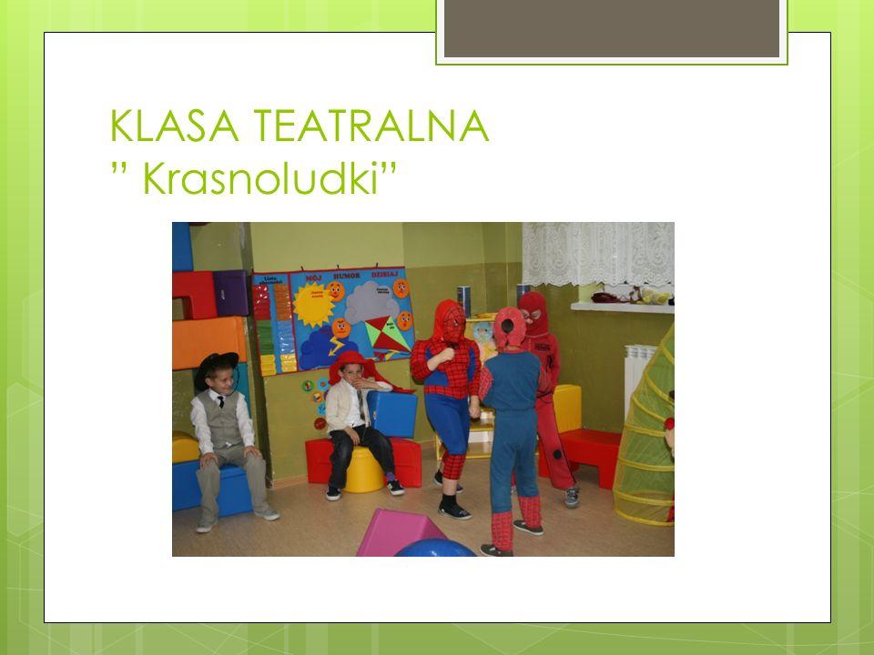 KLASA TEATRALNA Krasnoludki