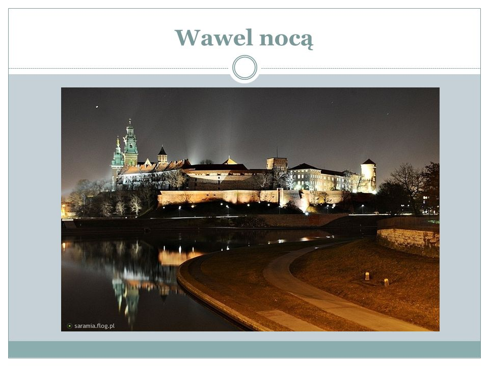 Wawel nocą