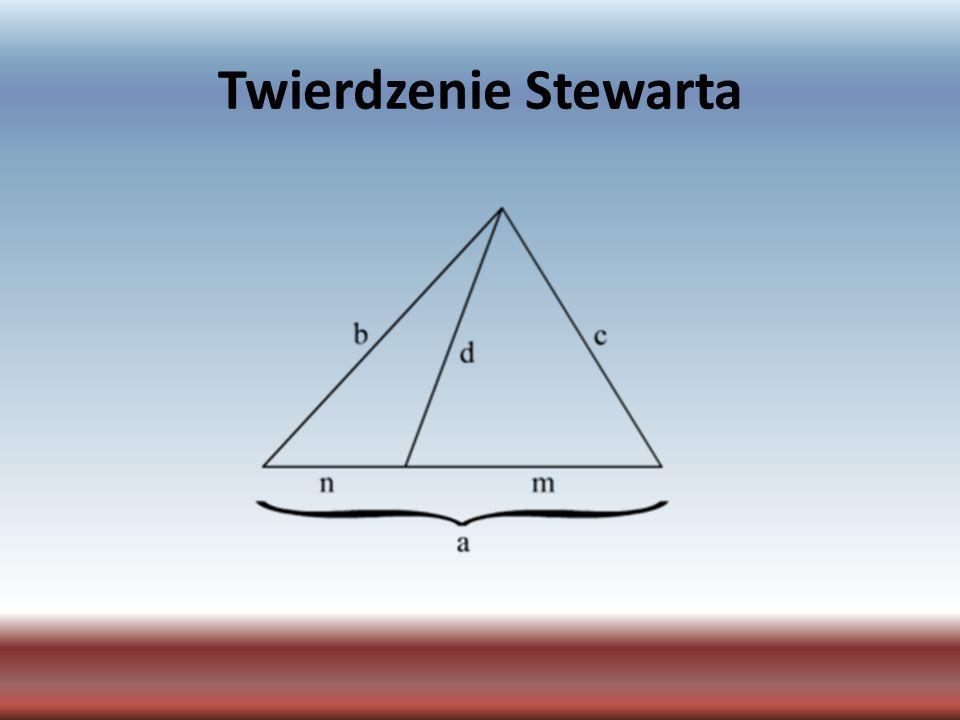 Twierdzenie Stewarta