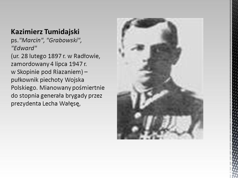 Kazimierz Tumidajski ps.