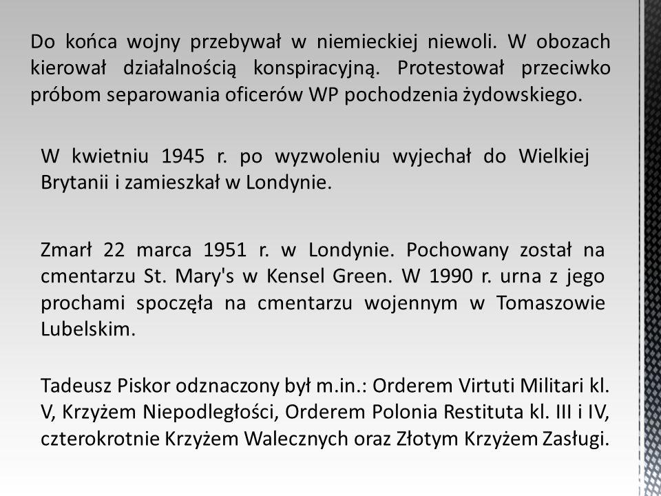Bibliografia: - wikipedia, -dzieje.pl – portal historyczny, -Teatrnn.pl – leksykon Lublin.