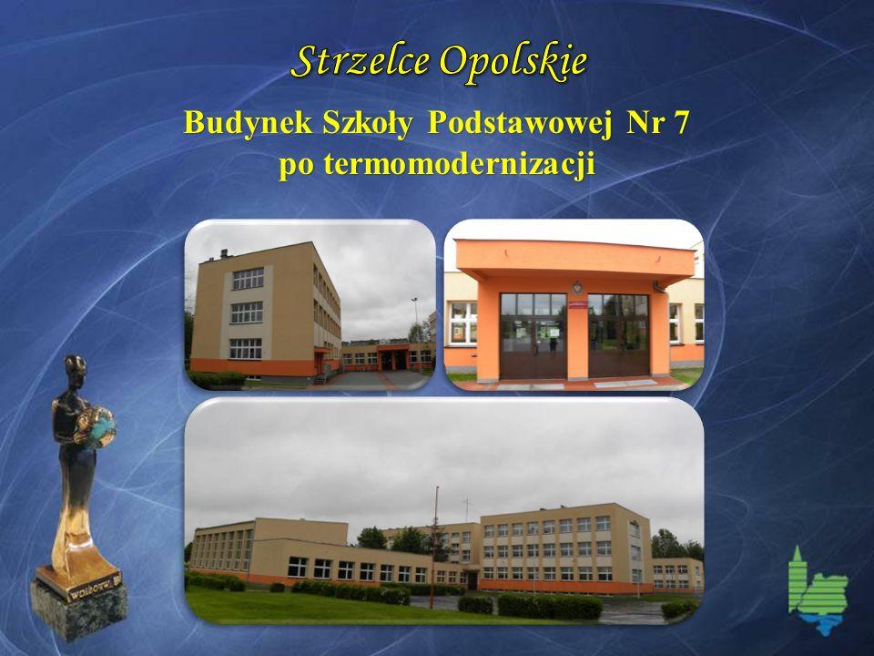 Budynek Szkoły Podstawowej Nr 7 po termomodernizacji