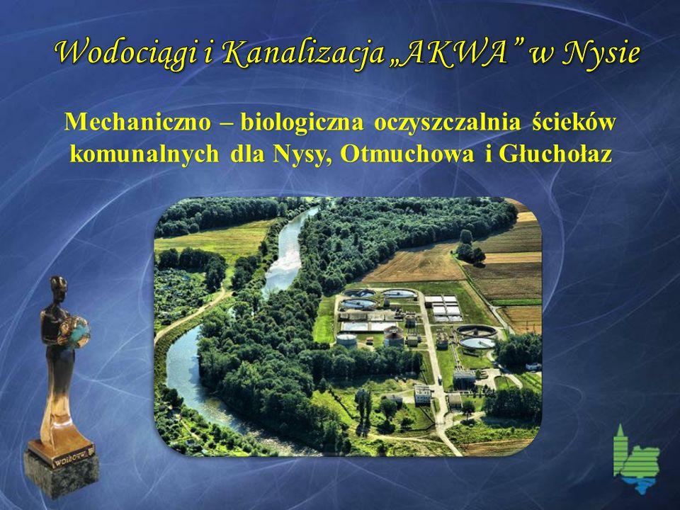 Mechaniczno – biologiczna oczyszczalnia ścieków komunalnych dla Nysy, Otmuchowa i Głuchołaz