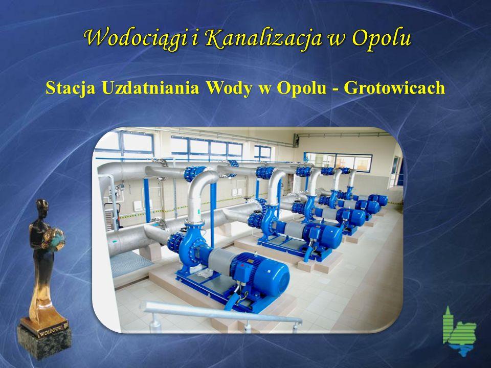 Stacja Uzdatniania Wody w Opolu - Grotowicach