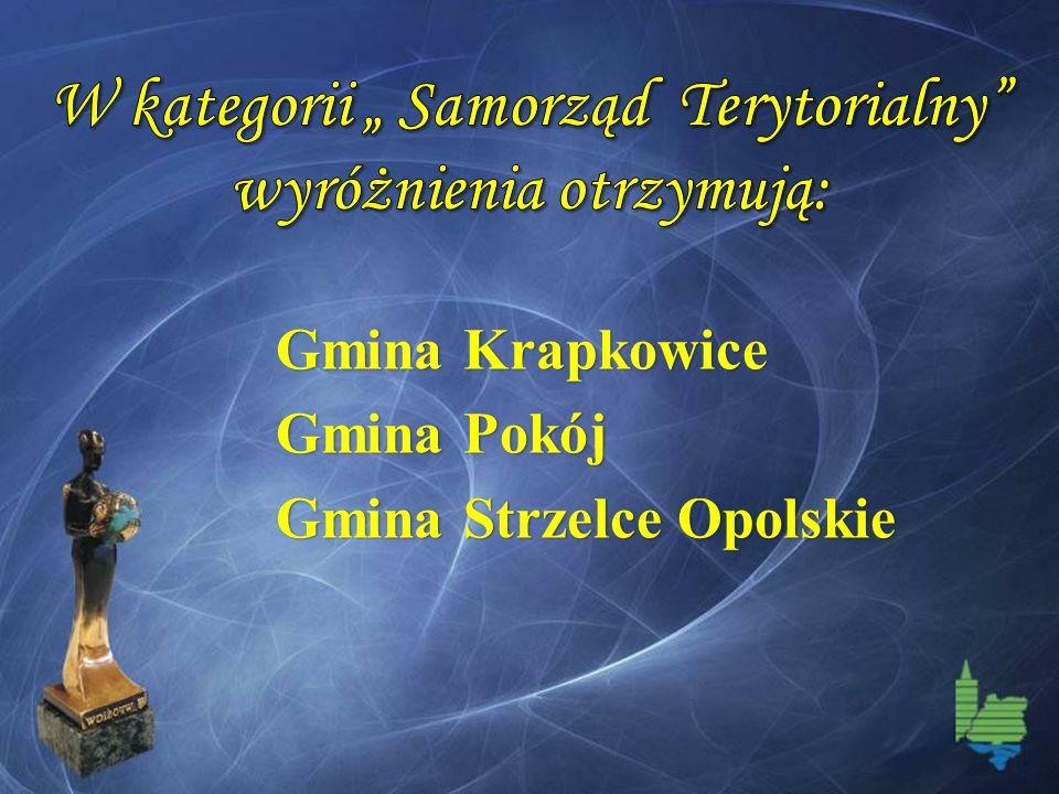 Gmina Krapkowice Gmina Pokój Gmina Strzelce Opolskie
