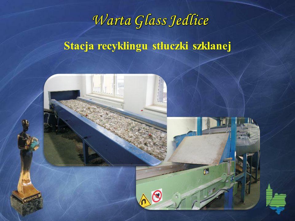 Stacja recyklingu stłuczki szklanej
