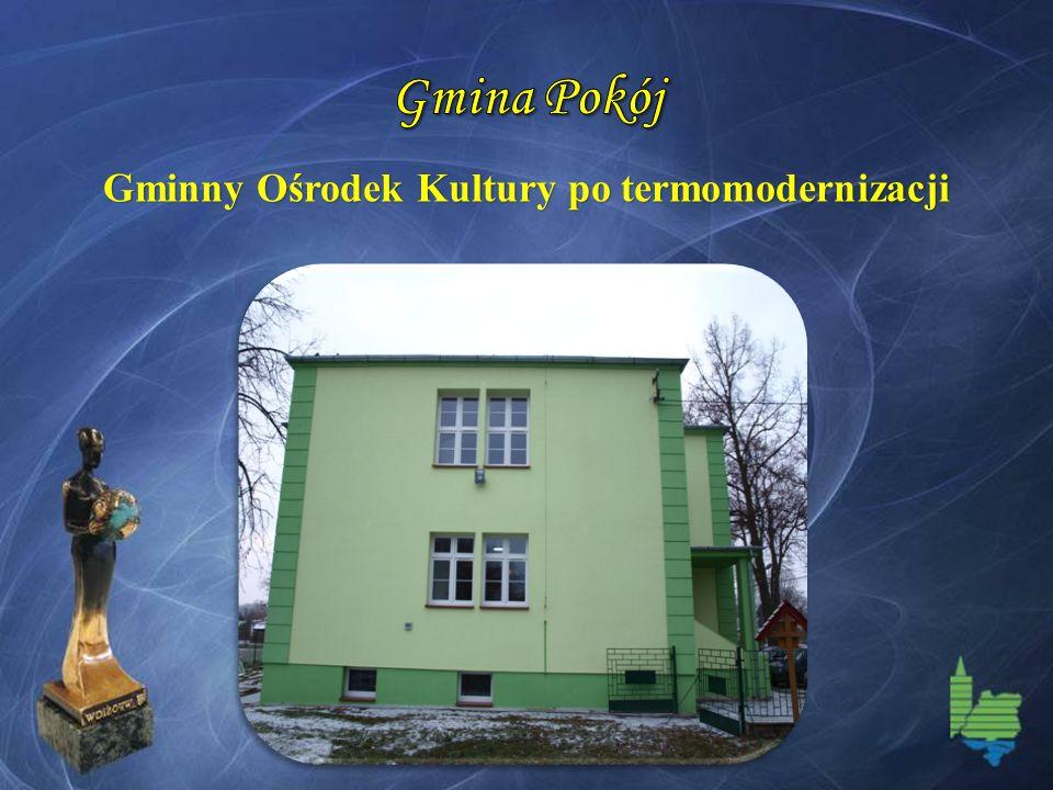 Gminny Ośrodek Kultury po termomodernizacji