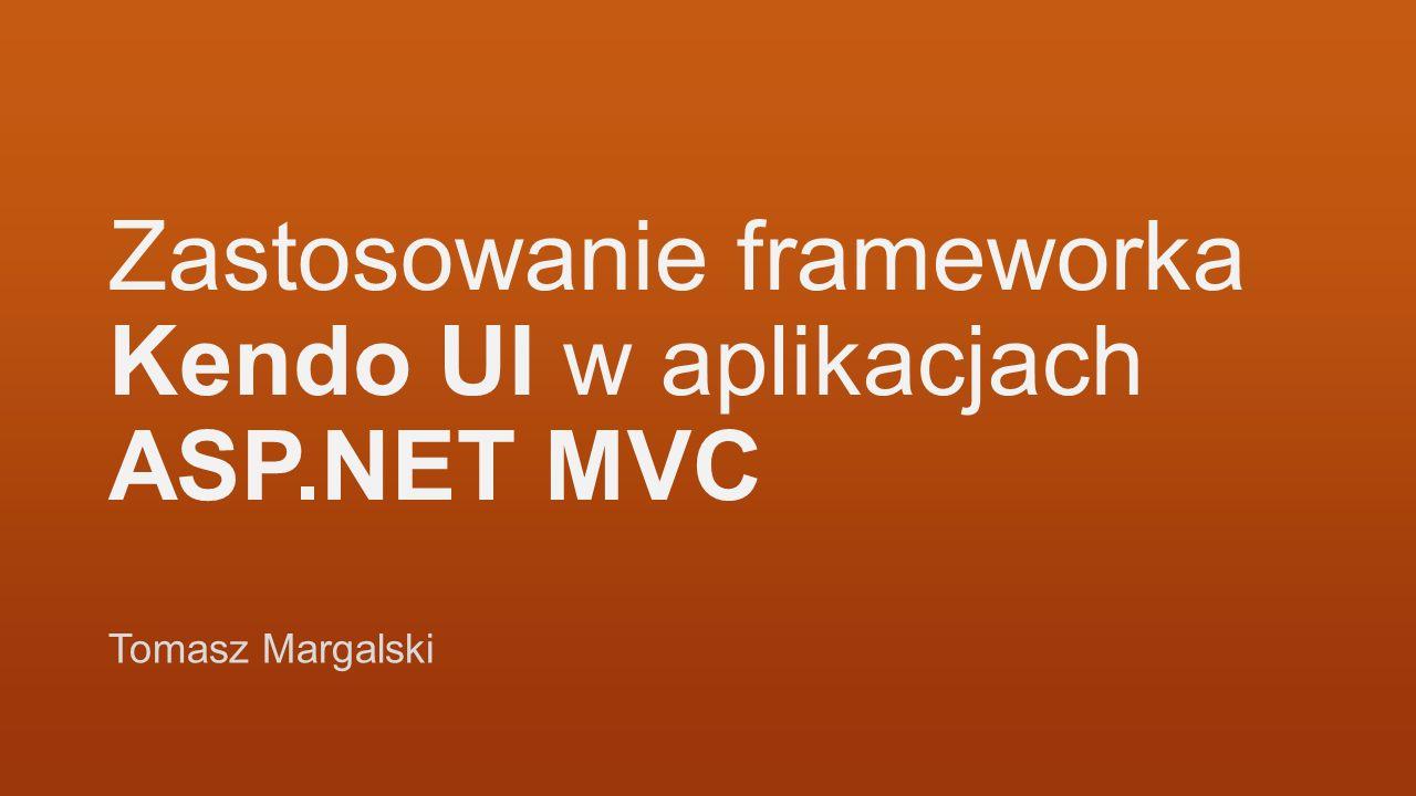 Agenda Kendo UI – co to jest i do czego służy Kendo UI vs jQuery UI Kendo UI Web w Twoim projekcie Przykłady zastosowania widgetow Kendo UI Web Podsumowanie Pytania