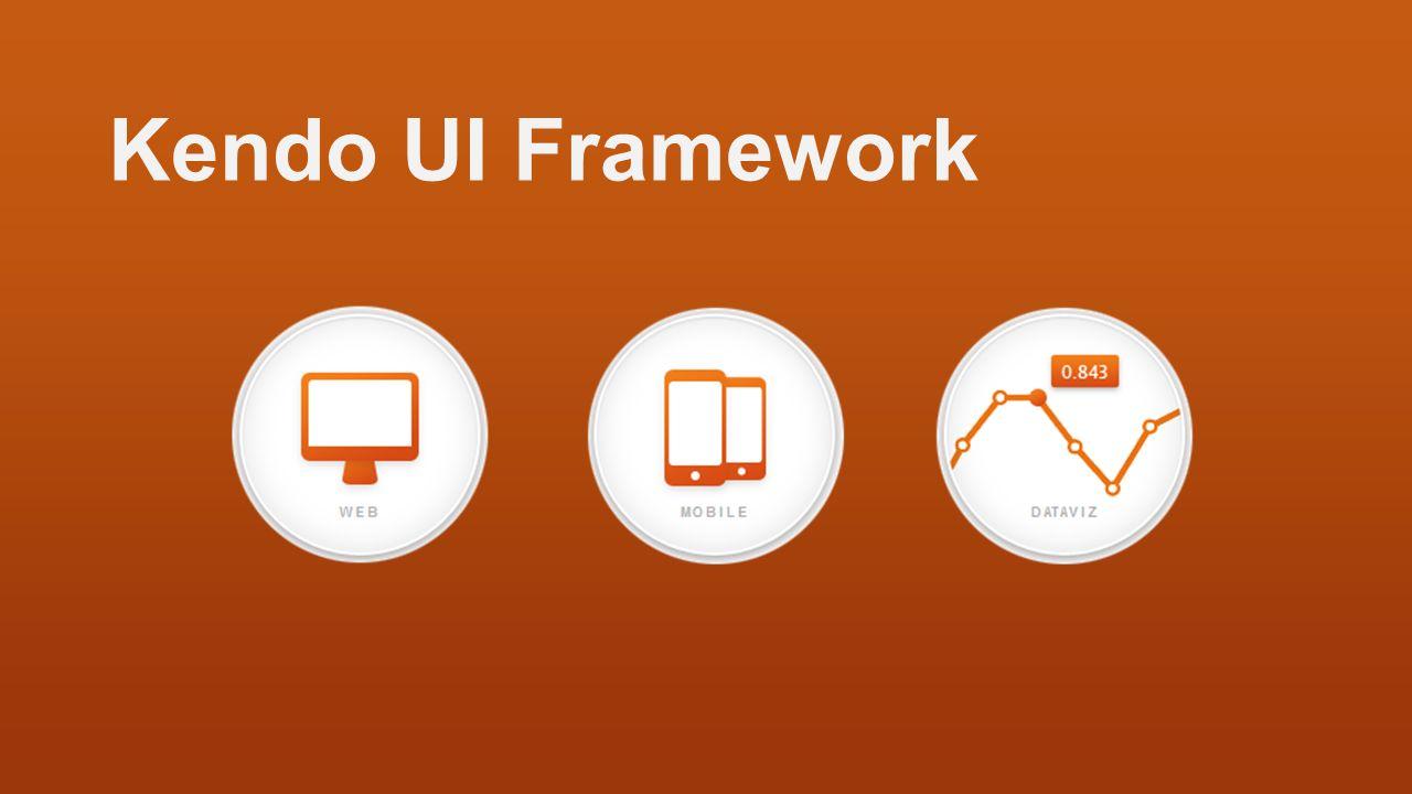 Kendo UI Framework