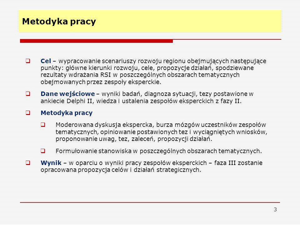 Rozwój postaw proinnowacyjnych w społeczeństwie Cel 3 (cel szczegółowy) – promocja Regionalnej Strategii Innowacyjności Województwa Kujawsko-Pomorskiego c.d.