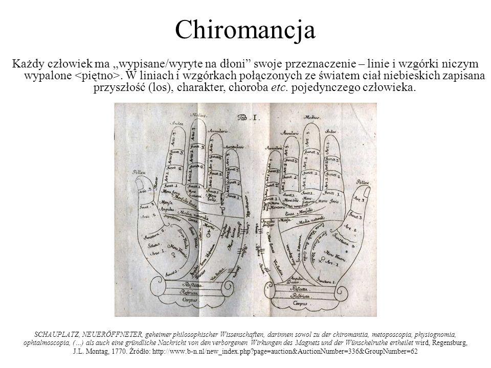 Chiromancja Każdy człowiek ma wypisane/wyryte na dłoni swoje przeznaczenie – linie i wzgórki niczym wypalone. W liniach i wzgórkach połączonych ze świ