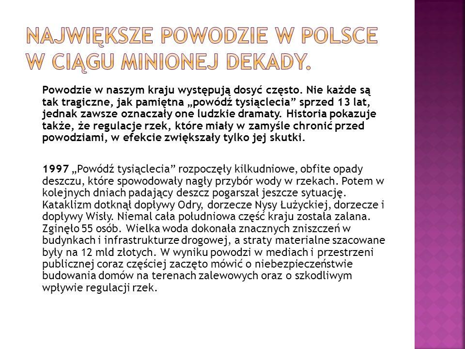 Jerzy Miller złożył premierowi Donaldowi Tuskowi raport na temat sytuacji powodziowej na terenie województwa dolnośląskiego.