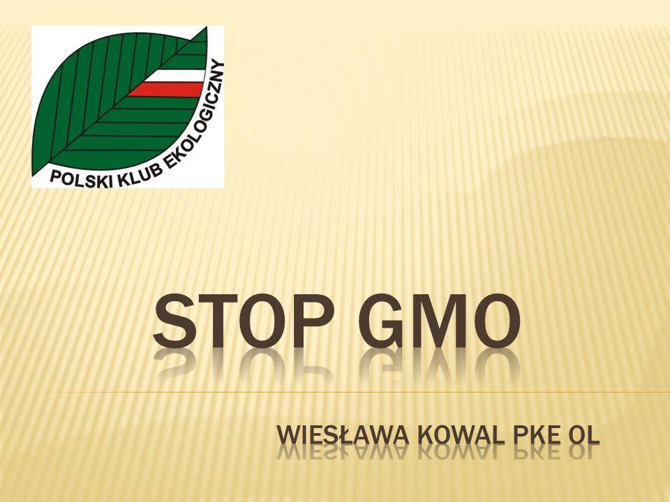 Chcemy, aby Polska pozostała wolna od GMO.