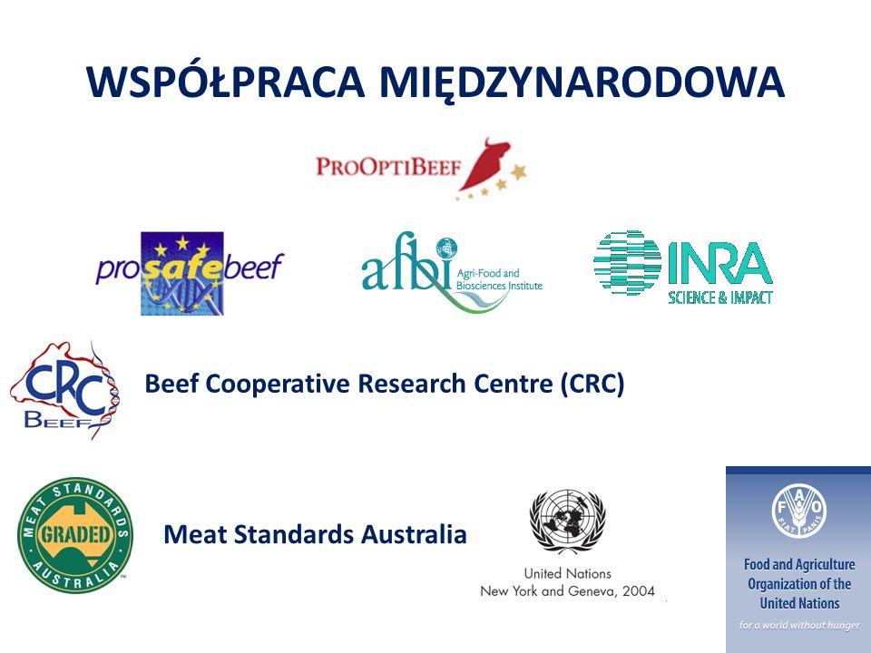 WSPÓŁPRACA MIĘDZYNARODOWA Meat Standards Australia Beef Cooperative Research Centre (CRC)