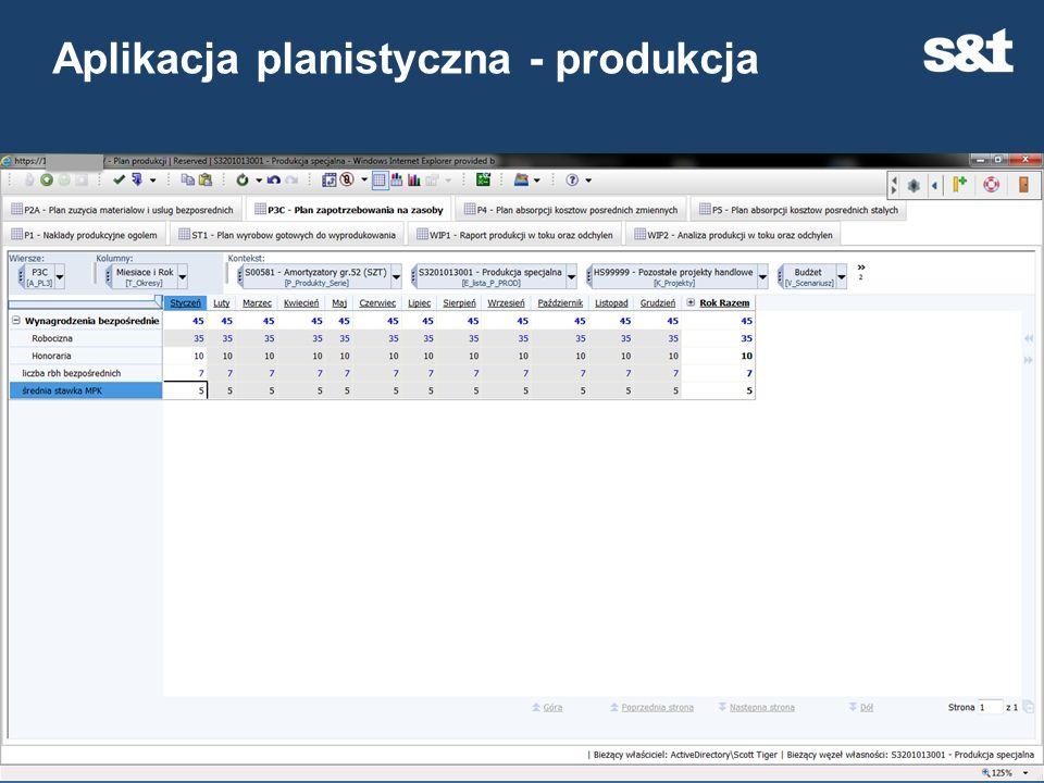 Aplikacja planistyczna - produkcja 29