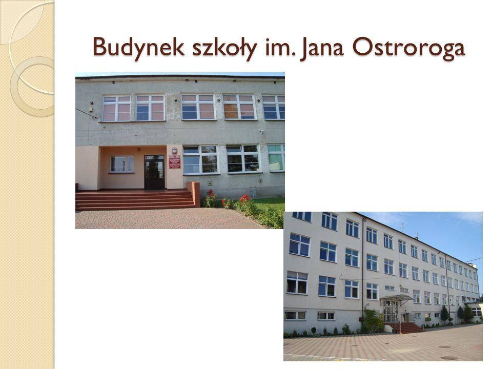 Budynek szkoły im. Jana Ostroroga