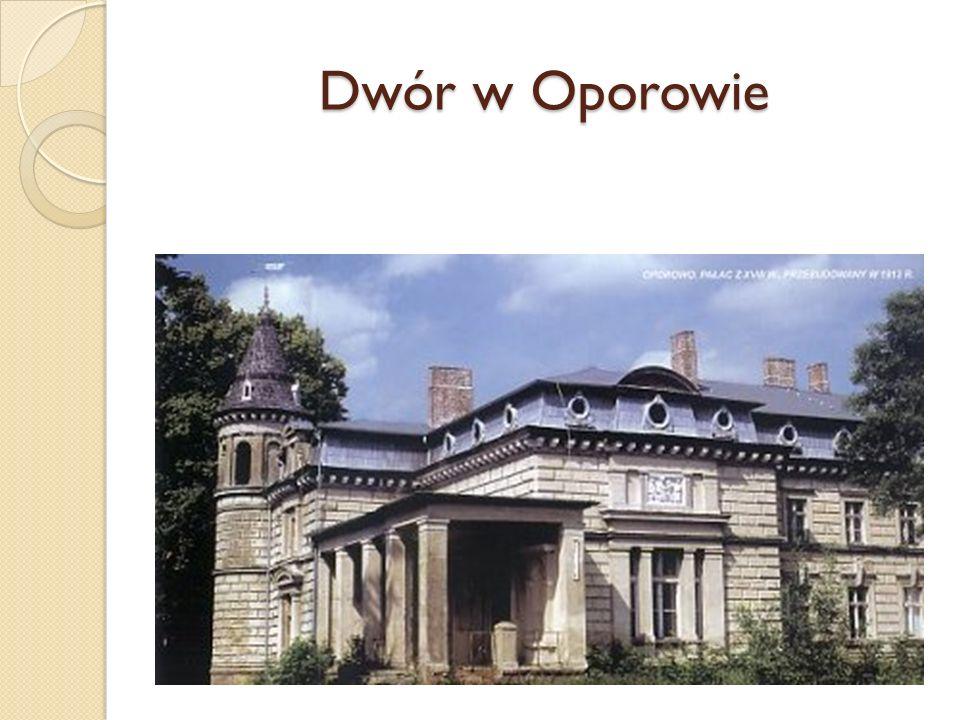 Dwór w Oporowie