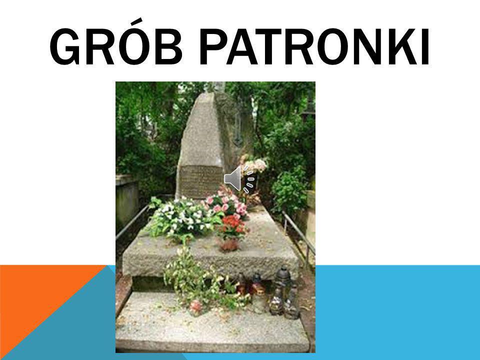 GRÓB PATRONKI
