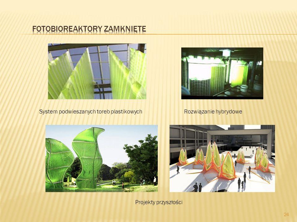 24 System podwieszanych toreb plastikowychRozwiązanie hybrydowe Projekty przyszłości