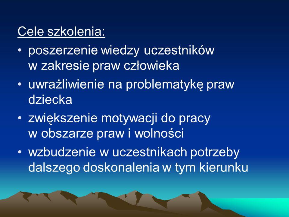 W ostatnich latach nastąpiło w Polsce szybkie upowszechnienie koncepcji praw człowieka.
