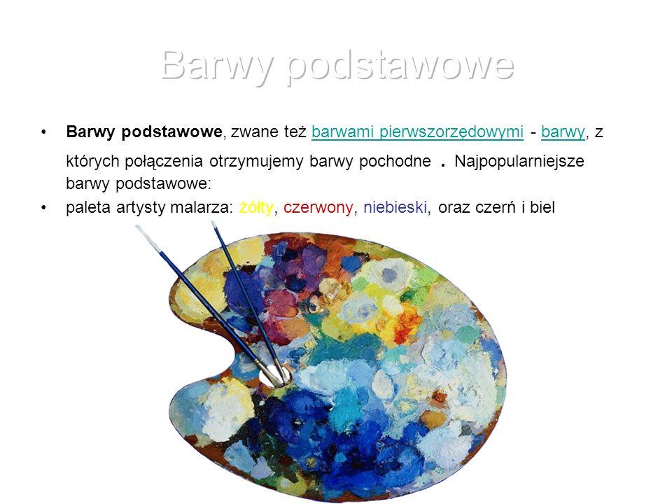 Barwy achro-i monochromatyczne Barwy proste (monochromatyczne, widmowe) - barwy otrzymane z rozszczepienia światła białego.barwy rozszczepieniaświatła