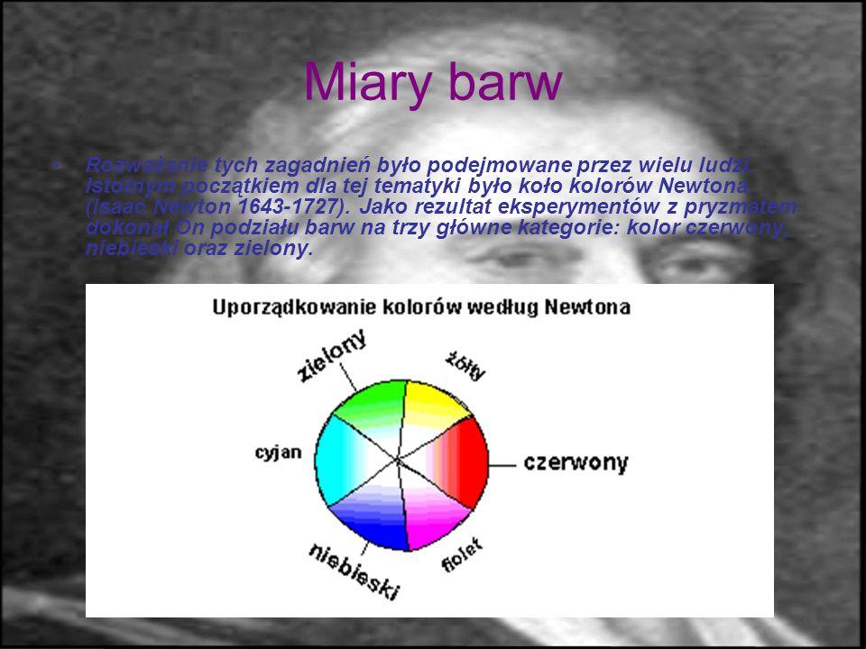 Barwy i szarości, czyli o mechanizmach widzenia Ile mamy barw? - z odcieniami - nieskończenie wiele, choć możliwości rozróżnienia kolorów przez człowi