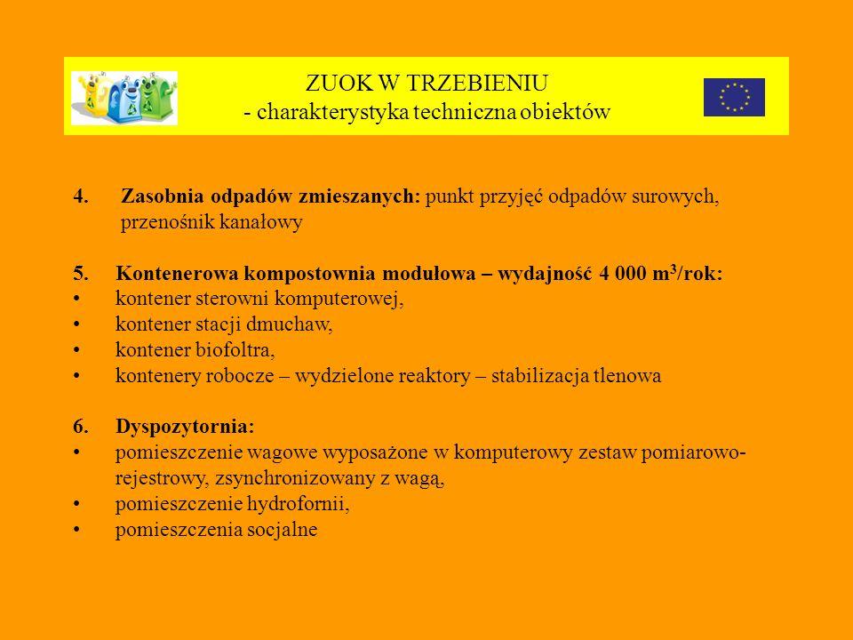 ZUOK W TRZEBIENIU - charakterystyka techniczna obiektów 4.