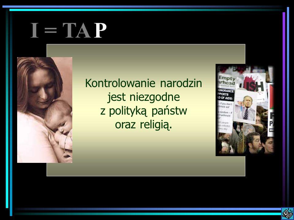 Controlling population Kontrolowanie narodzin jest niezgodne z polityką państw oraz religią.