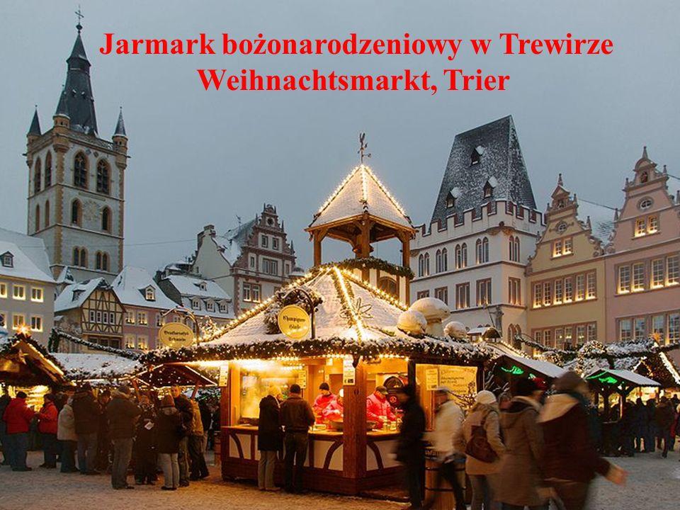 Jarmark bożonarodzeniowy w Trewirze Weihnachtsmarkt, Trier