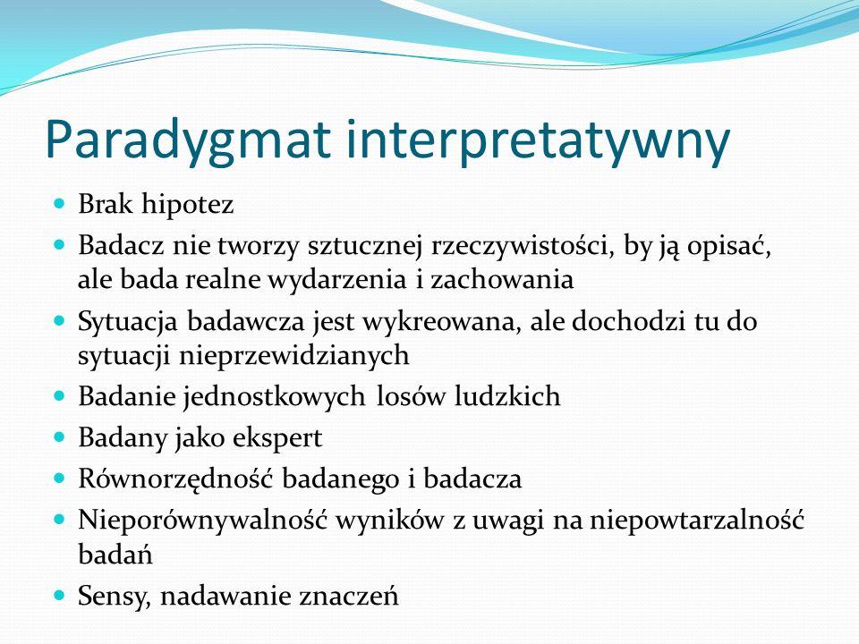 Bibliografia Ablewicz K., Hermeneutyka i fenomenologia w badaniach pedagogicznych, [w:] Orientacje w metodologii badań pedagogicznych, red.