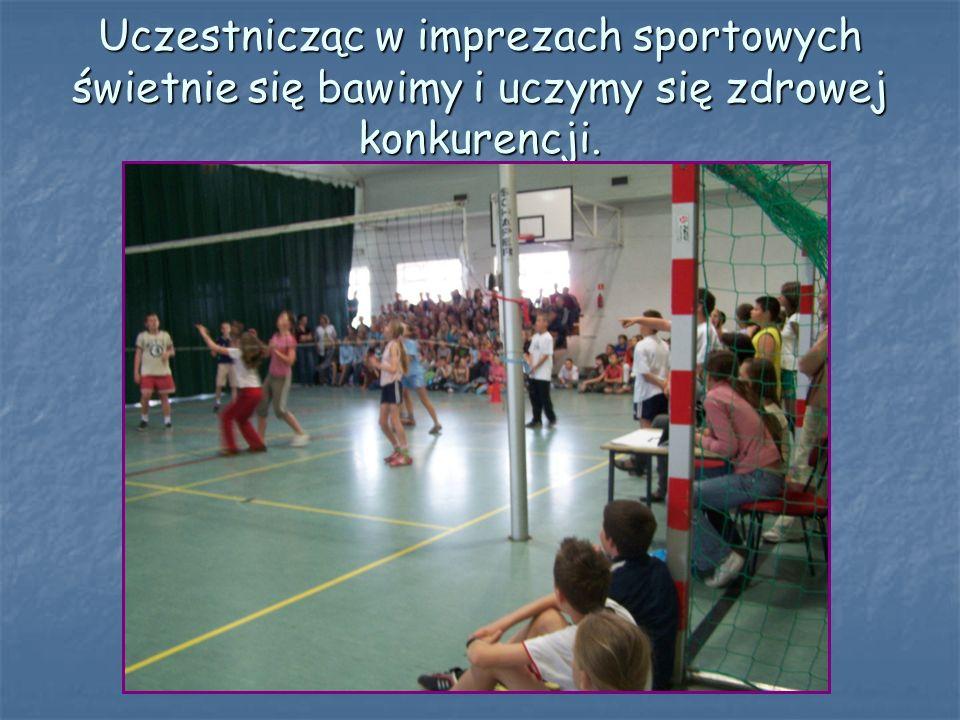 GIMNASTYKA ROZCIĄGANIE TO PROBLEMÓW ROZWIĄZANIE EFEKTY NASZYCH DZIAŁAŃ: Organizowane konkursy sprawnościowe, aerobik, zabawy sportowe pozwalają nam za