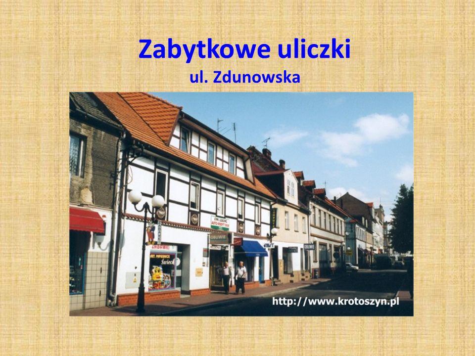 Zabytkowe uliczki ul. Zdunowska
