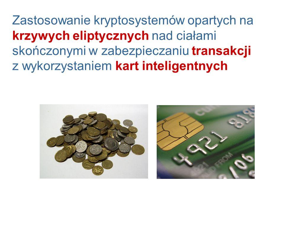 Zastosowanie kryptosystemów opartych na krzywych eliptycznych nad ciałami skończonymi w zabezpieczaniu transakcji z wykorzystaniem kart inteligentnych
