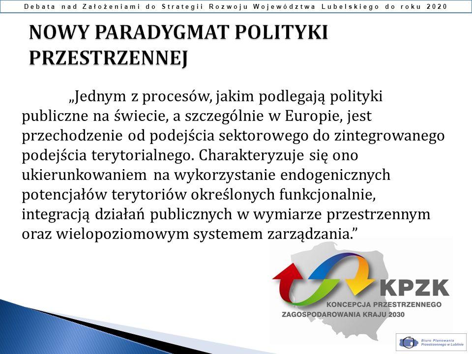 Jednym z procesów, jakim podlegają polityki publiczne na świecie, a szczególnie w Europie, jest przechodzenie od podejścia sektorowego do zintegrowane