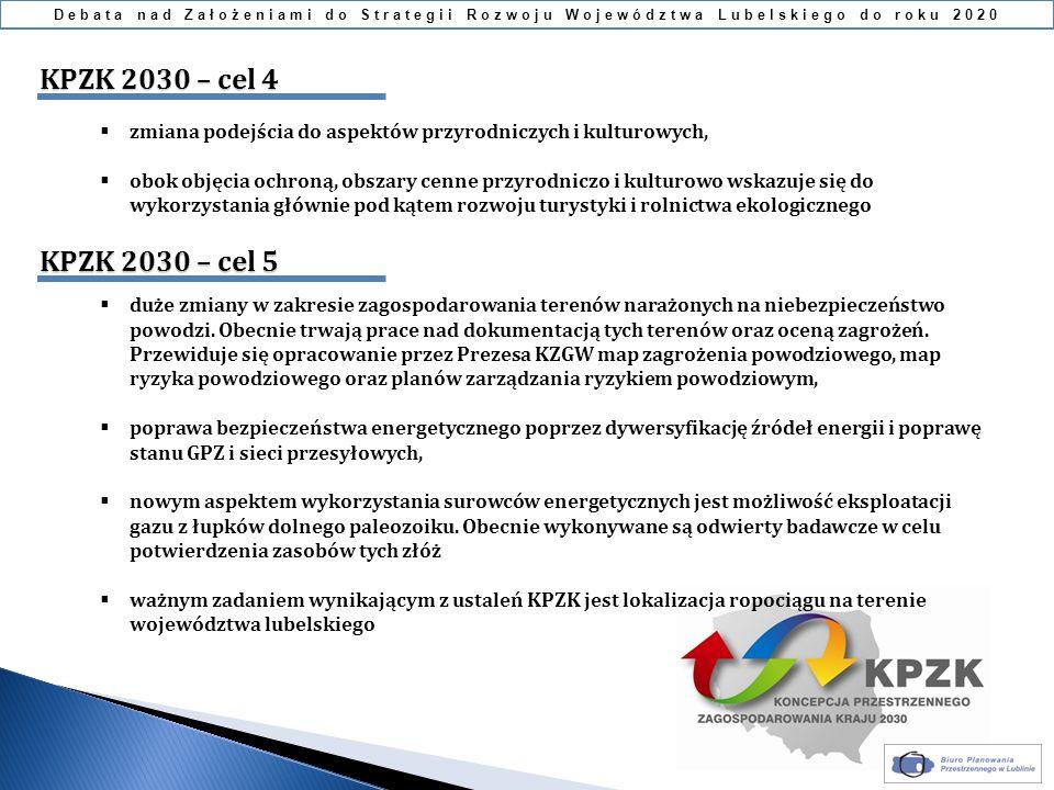 Debata nad Założeniami do Strategii Rozwoju Województwa Lubelskiego do roku 2020 zmiana podejścia do aspektów przyrodniczych i kulturowych, obok objęc