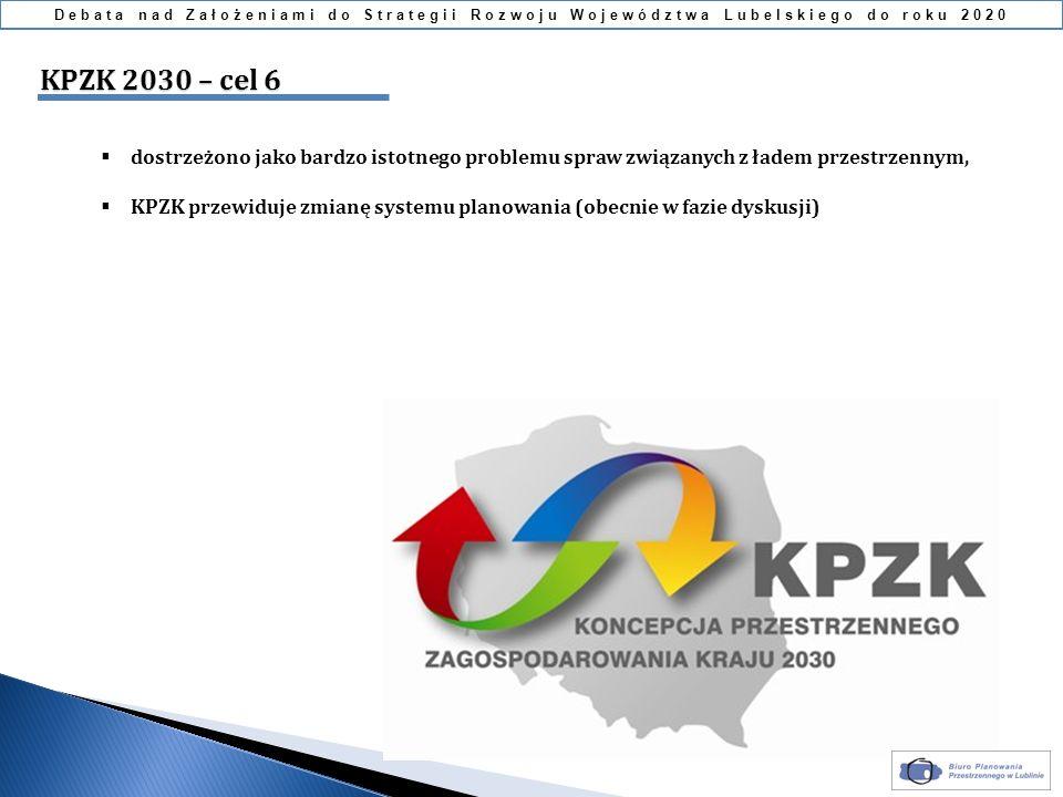 Debata nad Założeniami do Strategii Rozwoju Województwa Lubelskiego do roku 2020 dostrzeżono jako bardzo istotnego problemu spraw związanych z ładem p