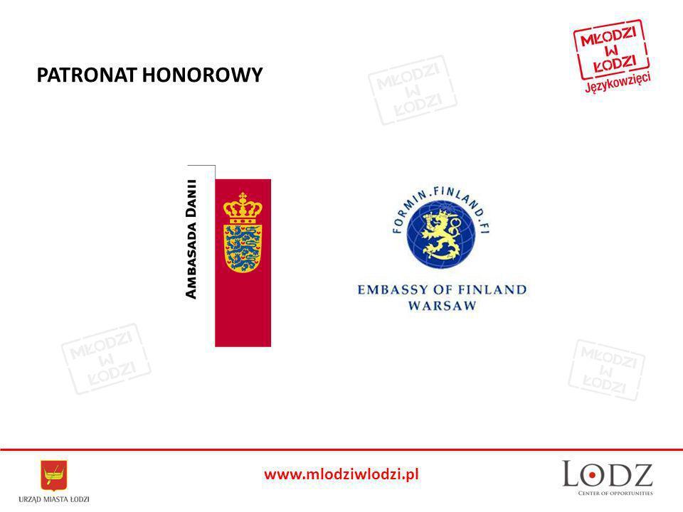 www.mlodziwlodzi.pl PATRONAT HONOROWY