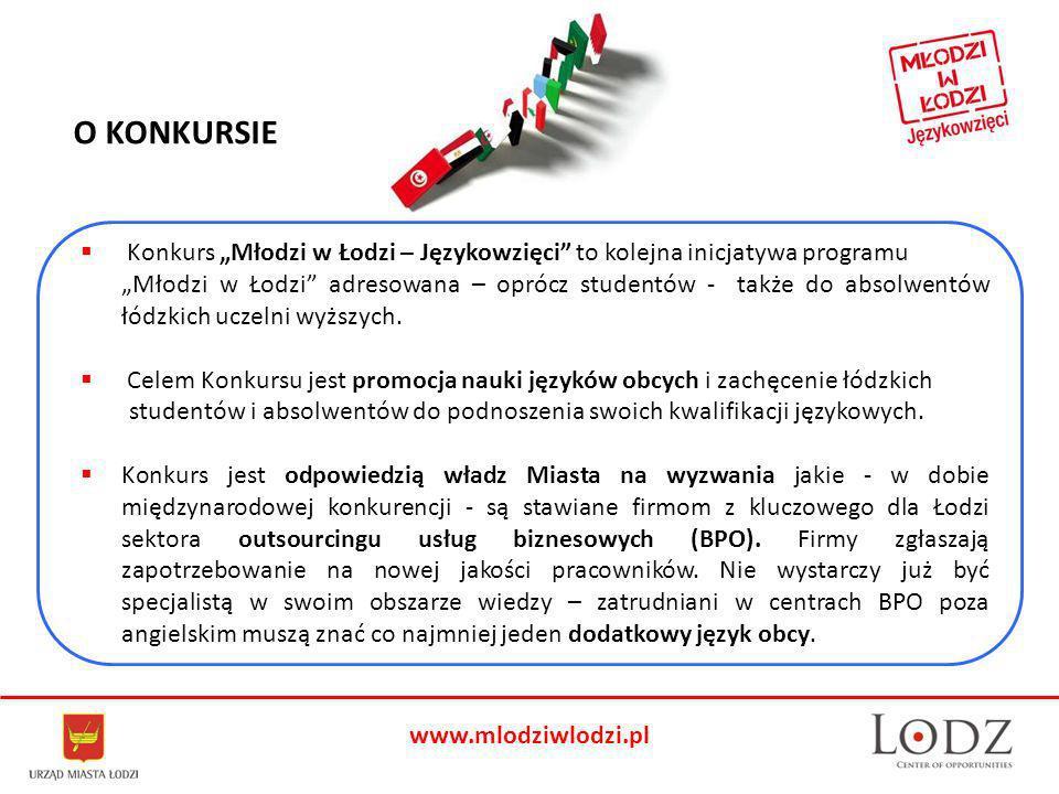 Konkurs Młodzi w Łodzi – Językowzięci to kolejna inicjatywa programu Młodzi w Łodzi adresowana – oprócz studentów - także do absolwentów łódzkich uczelni wyższych.