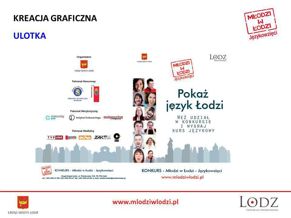 www.mlodziwlodzi.pl KREACJA GRAFICZNA ULOTKA