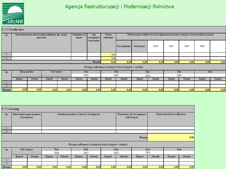 Agencja Restrukturyzacji i Modernizacji Rolnictwa 54
