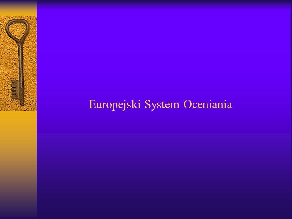 Europejski System Oceniania