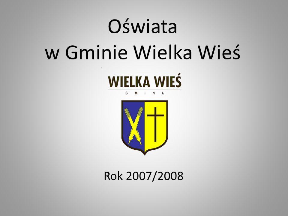 Uczniowie szkół w Gminie Wielka Wieś Podstawowe - 488 uczniów Gimnazjalne - 253 uczniów