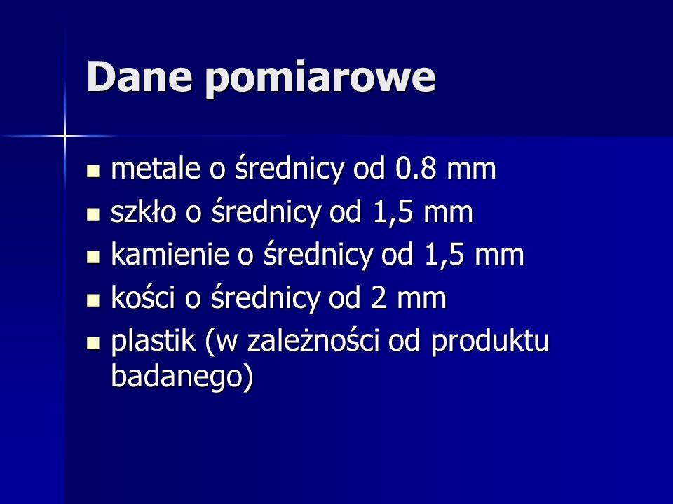 Parametry systemu Parametry systemu: Szerokość skanowania od 128mm nawet do 1m ( w zależności od potrzeb). Szerokość skanowania od 128mm nawet do 1m (
