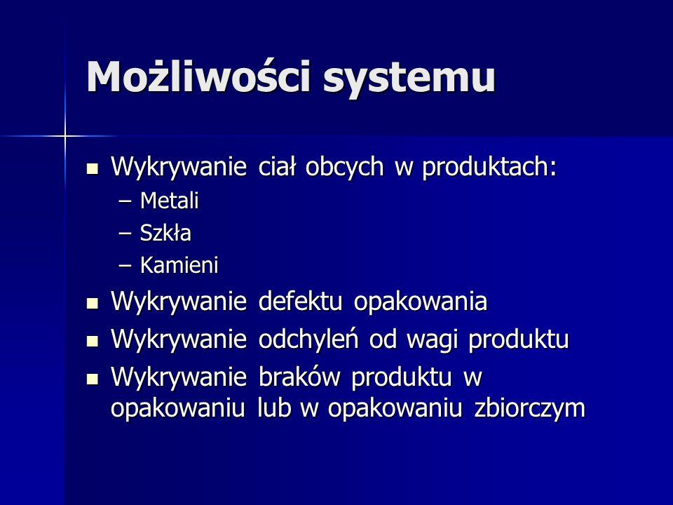 MX-SBCO Wielofunkcyjny system kontroli jakości produktów i opakowań MIKROMAT Anna Plaskowska 02-777 Warszawa; ul.Kulczyńskiego 22 l0k 72 info@mikromax