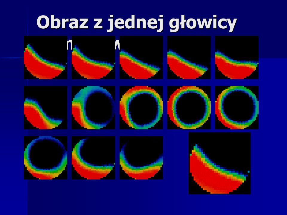 Obrazy z dwóch głowic pomiarowych Obrazy z dwóch głowic pomiarowych