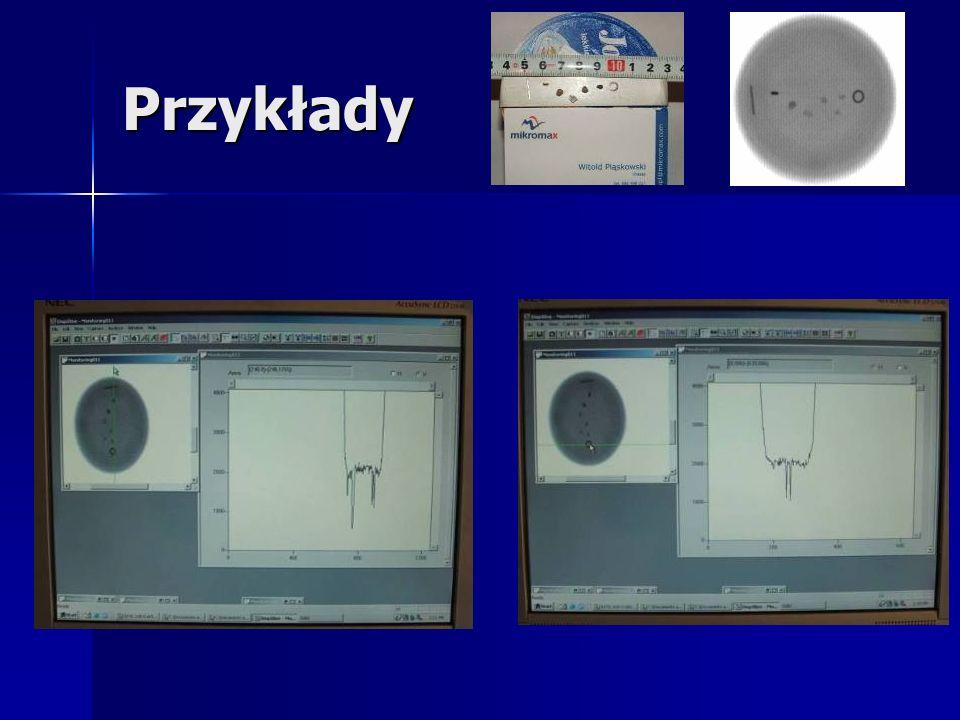 Zastosowania tomografii procesowej Procesy dynamiczne: Procesy dynamiczne: –Monitorowanie przepływów wielofazowych (dwu/trójfazowych); –Monitorowanie, wizualizacja i optymalizacja procesów mieszania wielofazowego; Procesy Statyczne Procesy Statyczne –Monitorowanie struktury