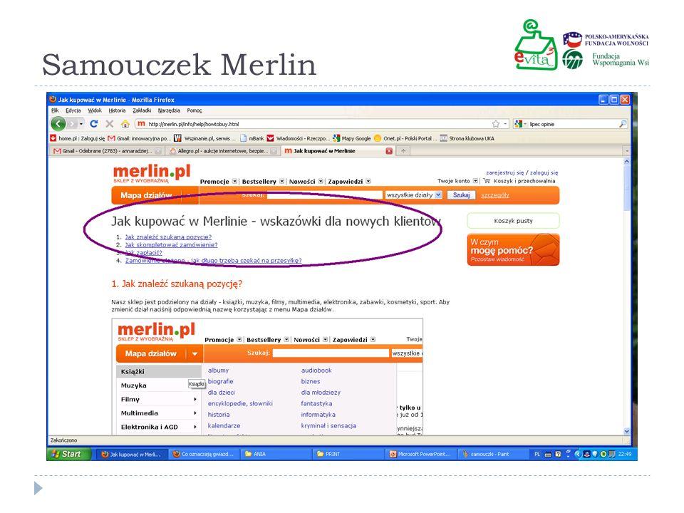 Samouczek Merlin