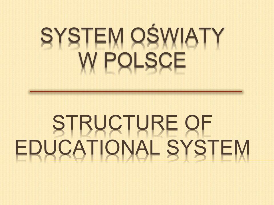 SZKOŁY PONADGIMNAZJALNE UPPER SECONDARY AND VOCATIONAL EDUCATION AND TRAINING Szkołę ponadgimnazjalną uczeń wybiera zgodnie ze swoimi zainteresowaniami.