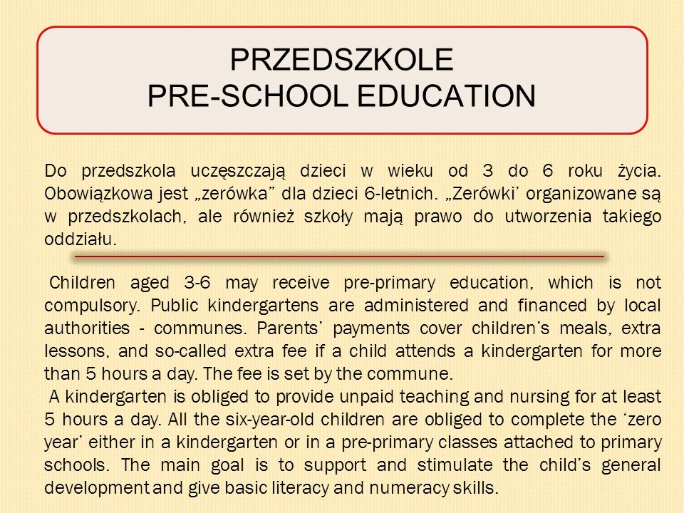 SZKOŁY PONADGIMNAZJALNE UPPER SECONDARY AND VOCATIONAL EDUCATION AND TRAINING 4-year technical school leading to the maturity certificate and vocational qualifications at technician level 2/3-year basic vocational school leading to skilled worker qualifications.